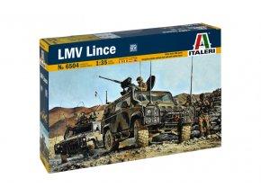 Italeri - lehké víceúčelové vozidlo Iveco LMV / VTLM Lince, 1/35, Model Kit 6504