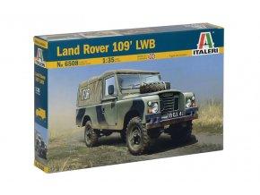Italeri - Land Rover 109' LWB, britská armáda, Model Kit 6508, 1/35