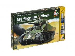 Italeri - M4 Sherman 75mm, Wargames 15651, 1/56