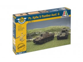 Italeri - Pz.Kpfw.V Ausf.G Panther, Fast Assembly 7504, 1/72
