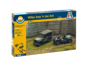 Italeri - Willys Jeep MB, US Army, Fast Assembly 7506, 1/72