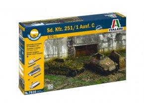 "Italeri - Sd.Kfz.251/1 Ausf.C ""Hakl"", Fast Assembly 7516, 1/72"