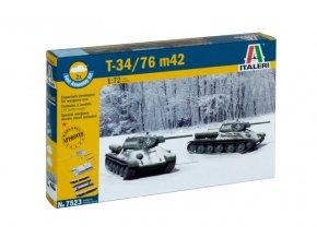 Italeri - T-34/76 Mod.1942, Fast Assembly 7523, 1/72