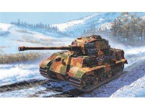 Italeri - Pz.Kpfw.VI Ausf.B Tiger II - Königstiger, Model Kit 7004, 1/72