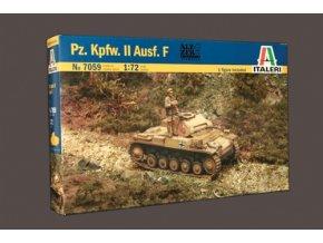 Italeri - Pz.Kpfw. II Ausf. F, Model Kit 7059, 1/72
