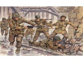 Italeri - figurky britští výsadkáři, 2.světová válka, Model Kit 6034, 1/72