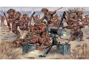 Italeri - figurky britská pěchota, 2.světová válka, Model Kit 6056, 1/72