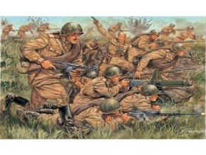 Italeri - figurky sovětská pěchota, 2.světová válka, Model Kit 6057, 1/72
