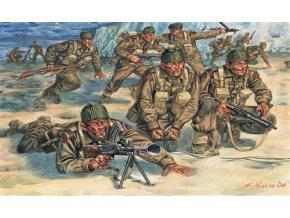Italeri - figurky britští Commandos 2.světová válka, Model Kit 6064, 1/72
