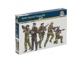 Italeri - figurky SPETSNAZ – Ruské speciální vojenské síly, (1980s),  Model Kit 6169, 1/72