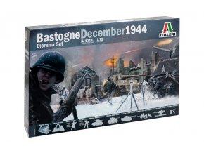 Italeri - diorama Obléhání Bastogne - Bitva v Ardenách, Model Kit 6113, 1/72