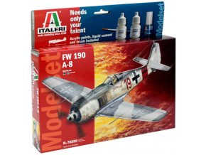 Italeri - Focke-Wulf Fw-190 A-8 / F-8, Model Set 70392, 1/72