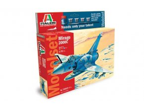 Italeri - Dassault Mirage 2000C, Model Set 71012, 1/72