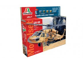 Italeri - Sikorsky UH-60 Desert Hawk, Model Set 71025, 1/72