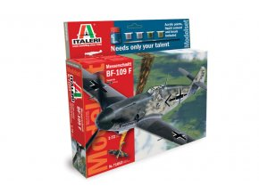 Italeri - Messerschmitt Bf-109F, Model Set 71053, 1/72