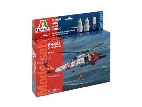 Italeri - Sikorsky HH-60J Jayhawk, United States Coast Guard, Model Set 71346, 1/72
