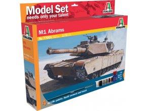 Italeri - M1 Abrams, Model Set 77001, 1/72