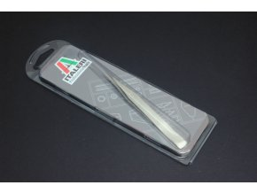 Italeri - rovná pinzeta, Precision tweezer - straight, 50814