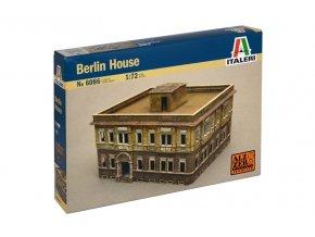 Italeri - budova berlínský dům, 2.světová válka, Model Kit 6086, 1/72