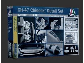 Italeri - doplňky k vrtulníku CH-47 Chinook pro velké detaily, Model Kit 26002, 1/48