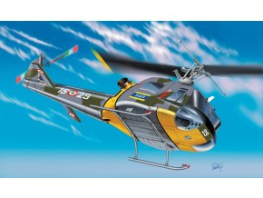 Italeri - Agusta-Bell AB 204 B / Bell UH-1 F Iroquois, 1/72, Model Kit 1201