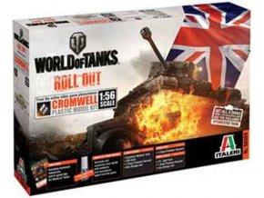 Italeri - Cromwell, Model Kit World of Tanks 56504, 1/56