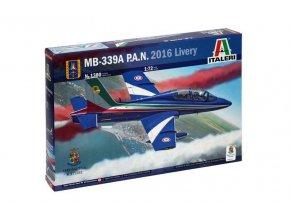 Italeri - Aermacchi MB-339A/PAN, Livery, 2016, Model Kit 1380, 1/72