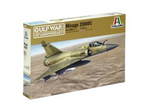 Italeri - Dassault Mirage 2000, Model Kit 1381, 1/72