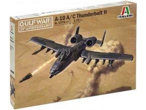 Italeri - Fairchild A-10 A/C Thunderbolt II, válka v Perském zálivu, Model Kit 1376, 1/72