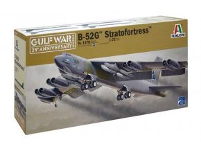 Italeri - Boeing B-52G Stratofortress, Model Kit 1378, 1/72