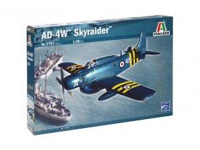 Italeri - Douglas AD-4W Skyraider, Model Kit 2757, 1/48