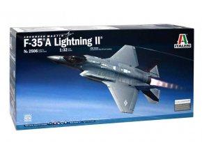 Italeri - Lockheed Martin F-35A Lightning II, Model Kit 2506, 1/32