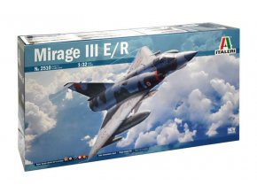 Italeri - Dassault Mirage III E/R, Model Kit 2510, 1/32
