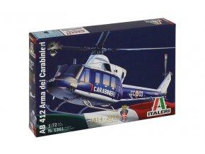 Italeri - Agusta-Bell AB 412, 1/72, Model Kit 1361