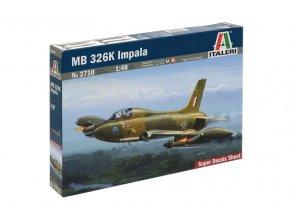 Italeri - Aermacchi MB.326K, 1/48, Model Kit 2710