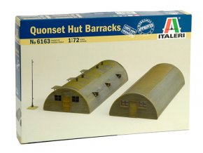 Italeri - doplňky - budova Quonset hut, 1/72, Model Kit 6163