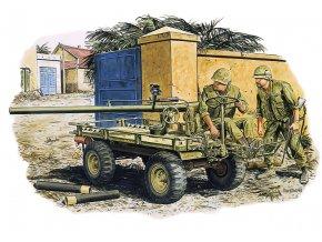 Dragon - figurky M274 Mule s protitankovou zbraní M 40 106mm a posádkou, Hue, Vietnam, 1968), Model Kit 3315, 1/35