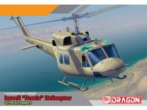 Dragon - Bell UH-1N Twin Huey s výsadkáři, 1/35, Model Kit 3543