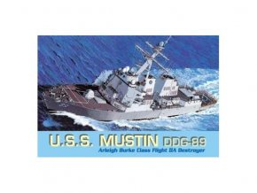 Dragon - torpédoborec USS Mustin (DDG-89), Model Kit 7044, 1/700