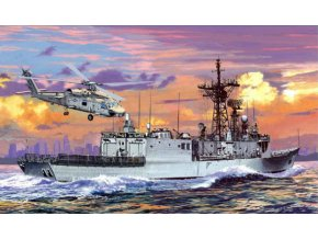 Dragon - fregata USS Ingraham (FFG-61), 1/700, Model Kit 7068