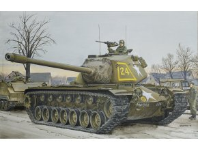 Dragon - těžký tank M103A1, Model Kit 7519, 1/72
