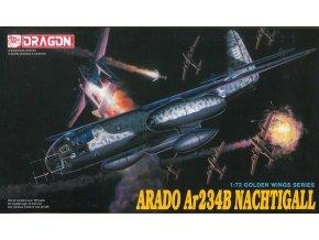 Dragon - Arado Ar-234 B Nachtigall, 1/72, Model Kit 5012