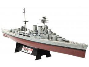 Forces of Valor - Bitevní loď HMS Hood, bitva v dánském průlivu, květen 1941, 1/700
