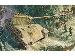 Dragon - Pz.Kpfw.V Ausf.G Panther, Pz.Rgt.26, italská fronta, Model Kit 6267, 1/35