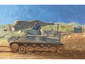 Dragon - Pz.Kpfw.I Ausf.B mit Abwurfvorrichtung, ženijní úprava, Model Kit 6480, 1/35