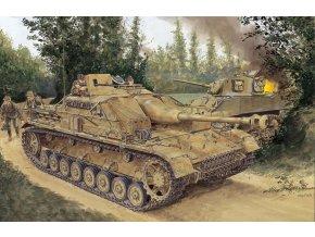 Dragon - Sd.Kfz.167 Sturmgeschütz IV - StuG IV, Model Kit 6520, 1/35