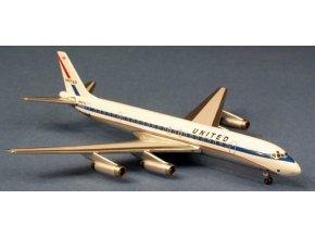 "AeroClassic - Douglas DC-8-62, dopravce United Airlines ""Mainliner"", USA, 1/400"