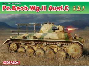 Dragon - Pz.Beob.Wg.II Ausf. A-C, Model Kit 6812, 1/35