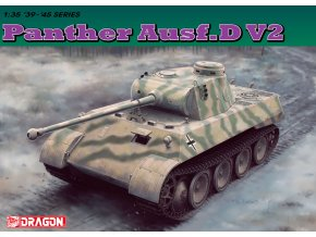 Dragon - Pz.Kpfw.V Ausf.D V2 Panther, Model Kit 6822, 1/35