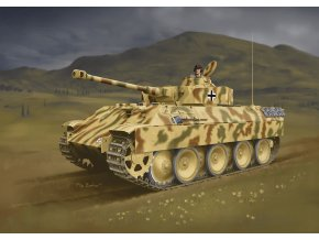 Dragon - Pz.Kpfw.V BergePanther s věží Pz.Kpfw.IV, Model Kit 7508, 1/72
